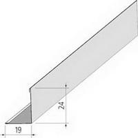 Угол 19х24 мм Белый, длина 3 метра, для подвесных потолков