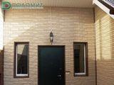 Фасадная панель Доломит Орех. Окантовка окон и дверей - околооконная планка Доломит Корица