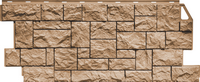 Фасадная панель FineBer Камень дикий Терракотовый (1117х463мм)