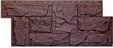 Цокольный сайдинг т-сайдинг гранит леон памир 8016-9005 техоснастка