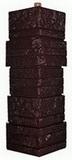 Угол цокольный т-сайдинг альпийская скала (сказка) памир 8016-9005 техоснастка