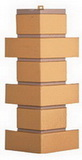 Угол цокольный т-сайдинг керамит бежевый 1011 техоснастка