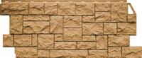Фасадная панель FineBer Камень дикий Песочный (1117х463мм)