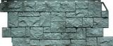Фасаднаяпанель (цокольный сайдинг) fineber камень дикий серо-зеленый (1117х463мм)