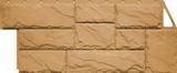 Фасадная панель FineBer Камень крупный Песочный (1080х452мм)