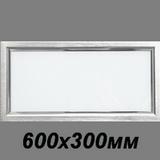 Светильник 600х300мм Caveen LED-02Y  Тёплый свет светодиодный встраиваемый 18вт 3000к