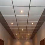 Кассетные потолки типа Армстронг Албес 600х600мм (открытая система)