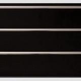 Панель ПВХ 3х0,24м Черная Серебро 3-х секционная
