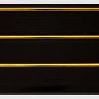 Панель ПВХ 3х0,24м Черная Золото 3-х секционная