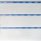 Панель ПВХ 3х0,24м Элегия голубая 3-х секционная
