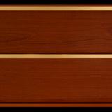 Панель ПВХ 3х0,24м Итальянский орех Золото 2-х секционная