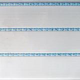 Панель ПВХ 3х0,24м Кантри голубой 3-х секционная