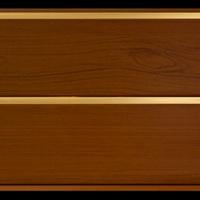 Панель ПВХ 3х0,24м Лесной орех Золото 2-х секционная