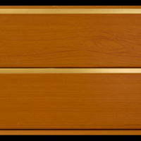 Панель ПВХ 3х0,24м Миланский орех Золото 2-х секционная