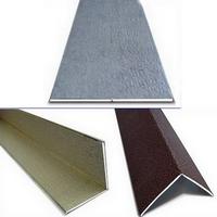 Универсальный уголок ПВХ ламинированный 3м Век под цвет панели