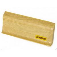 Плинтус 55х22мм напольный пластиковый Ideal / Идеал Комфорт К55 204 Дуб имперский (длина-2,5м)