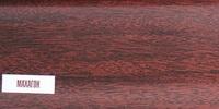 Плинтус 85мм Идеал Макси 346 Махагон