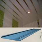 Реечный потолок Французский дизайн с рейкой 100мм