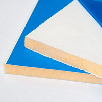 Сэндвич панель ПВХ (утепленный откос на окна) 3000х1500х10мм, Белый матовый