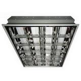 Светильник растровый встраиваемый в потолок Армстронг 600х600