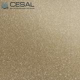Металлический кассетный потолок с кассетой 300х300мм Cesal 010В Золотистый жемчуг
