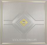 Металлический кассетный потолок с кассетой 300х300мм Cesal 055D Антик
