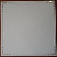 Металлический кассетный потолок с кассетой 300х300мм Cesal 0-61D Айсберг