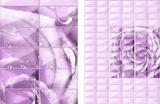 Панель ПВХ Unique 2,7х0,25м Садали фиолетовый