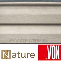 Сайдинг под дерево Vox Nature Дуб Серый 3,85х0,25м