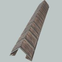 Наружный фактурный угол Доломит Альпийский Премиум Турмалин (длина-1м)