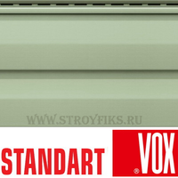 Сайдинг Vox Standart Светло-зеленый 3,00х0,25м