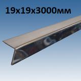 Угол 19х19 мм Primet Суперхром, длина 3 метра