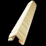 Наружный фактурный угол Доломит Крымский берег Слоновая кость (длина-1м)