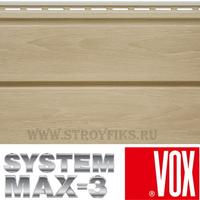 Сайдинг под дерево Vox Max-3 Бук 3,85х0,25м
