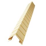 Наружный фактурный угол Доломит Кирпич Шампань (длина-1м)