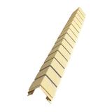 Наружный фактурный угол Доломит Кирпич Светло-желтый (длина-1м)