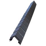 Наружный фактурный угол Доломит Кирпич Славянка Коричневый (длина-1м)