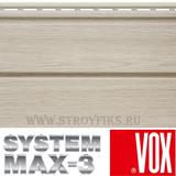 Сайдинг под дерево Vox Max-3 Ясень 3,85х0,25м