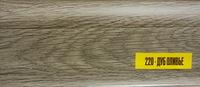 Плинтус 55х22мм напольный пластиковый Ideal / Идеал Комфорт К55 220 Дуб оливье (длина-2,5м)