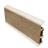 Плинтус 70х22мм напольный пластиковый Идеал Deconika / Деконика Д-П70 229 Дуб латте (длина-2,2м)