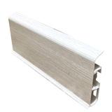 Плинтус 70х22мм напольный пластиковый Идеал Deconika / Деконика Д-П70 265 Клен патина (длина-2,2м)