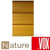Софит vox nature (вокс натур) дуб медовый перфорация по центру (размер:2,7х0,3м)