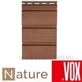 Софит vox nature (вокс натур) дуб янтарный перфорация по центру (размер:2,7х0,3м)