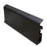 Плинтус 80х22мм напольный пластиковый Идеал Система (Ideal) 303 Венге темный
