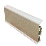 Плинтус 70х22мм напольный пластиковый Идеал Deconika / Деконика Д-П70 361 Акация (длина-2,2м)