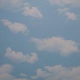 Металлический кассетный потолок с кассетой 300х300мм Cesal 388 Небо с облаками (Глянцевая)