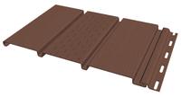 Софит FineBer Могано, Коричневый с центральной перфорацией (Размер:3х0,3м)