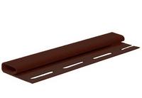 Финишная планка FineBer Могано, Коричневая (длина-3,66м)