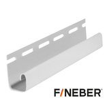J-профиль FineBer Белый (длина-3,05м)