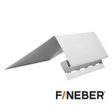 Околооконная планка 160 мм FineBer Белая (длина-3,05м)